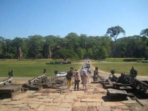 This is the view from Elephan Terra, In case you were wondering why it is called that, it is because in the expansive vista you see ahead the kings would have actual elephant fights.. awesome!