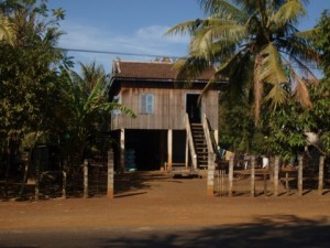 Typical Cambodian house