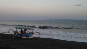 "One of the less popular ""surf"" beaches in Bali"